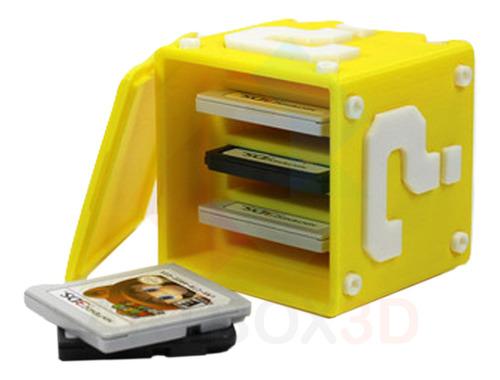 Caixa Super Mário De Jogos Para Nintendo 3ds Nds Porta Jogos Original