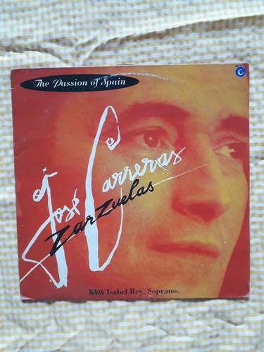 Zarzuelas - The Passion Of Spain - Jose Carreras  Encarte Original