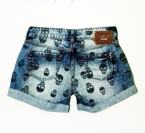 Short Jeans Feminina Colcci Silver Lab Tms 36 & 40