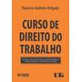 Curso De Direito Do Trabalho Mauricio Godinho Delgado 2019