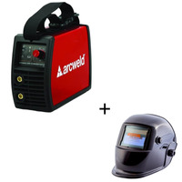 Inversora Arcweld 200i + MascaraCom Escurecimento Auto