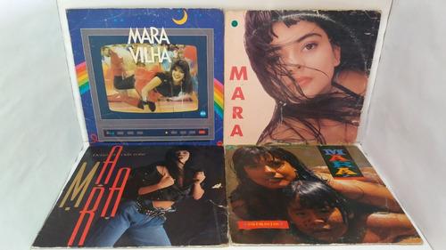 Lps Mara / Lote Com 4 Discos (fotos) Por Apenas...
