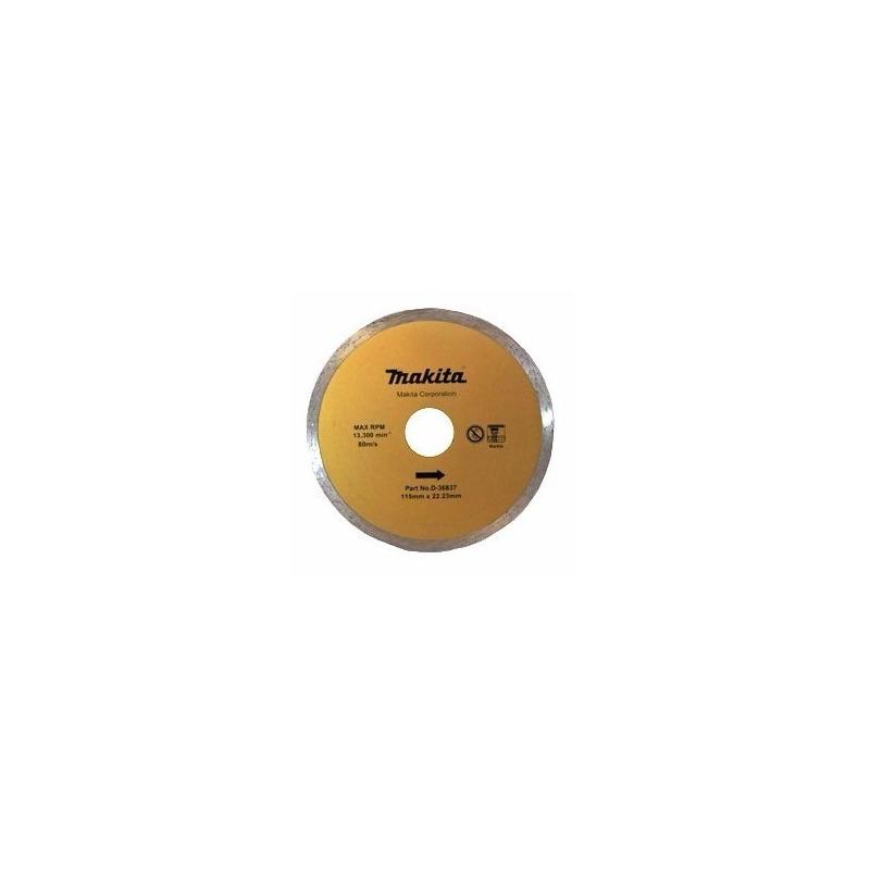 Disco Diamantado Liso 115mm - D-36837 - Makita<BR>