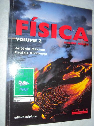 Física Volume 2 Ensino  Médio (sebo Amigo) Original
