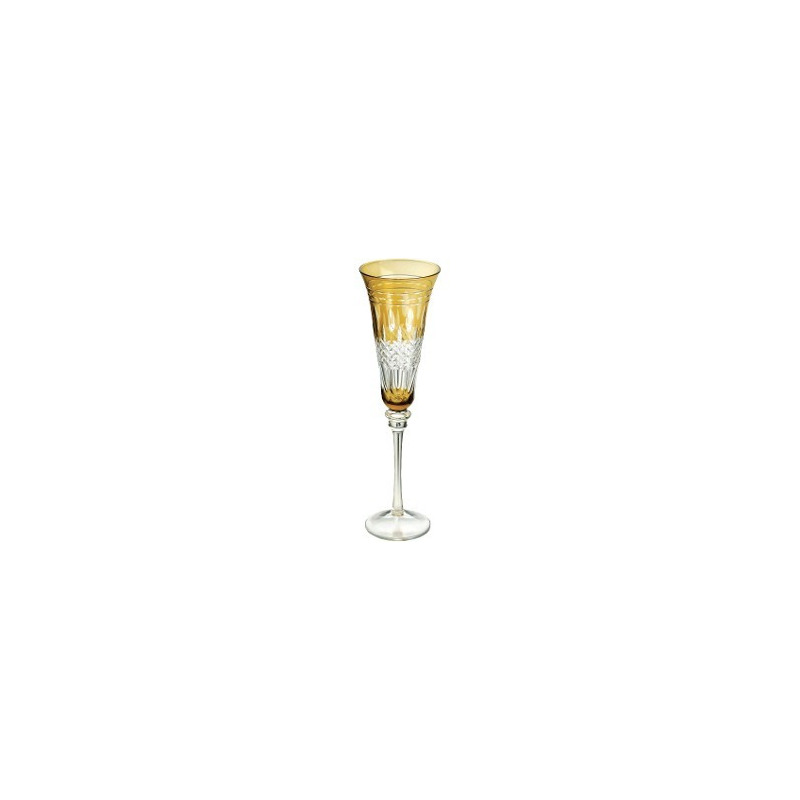 Jogo 6 Taças Ambar para Champagne 150Ml Aurora - Bon Gourmet 3106784