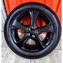 Roda Corolla Xrs 2013 Preta Com Pneu Pirelli P7