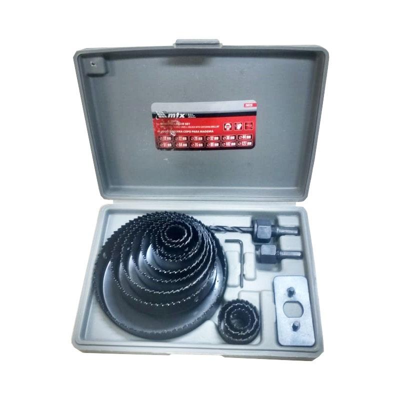 Furadeira de Bancada 500W 16MM G2321BR2 220V + Paquímetro + Jogo de Serra + Jogo de Broca