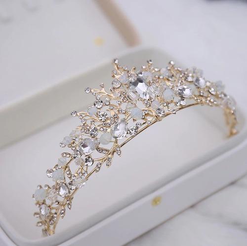 Coroa Tiara Casamento Noiva Acessórios Cabelo Colar Brincos Original