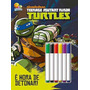 Colorir E Atividades C/canetinha: Ninja Turtles