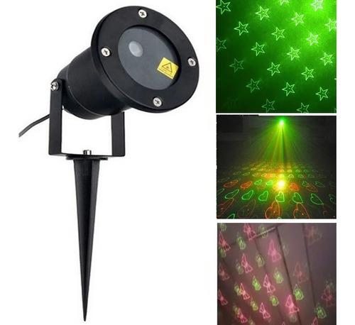Espeto Projetor Laser Desenhos Festa Anivesário Prova D'água Original