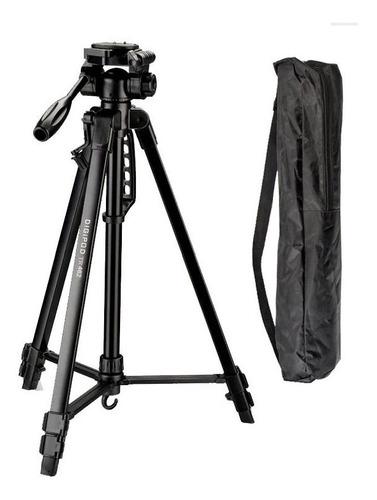 Tripe Camera Digital Filmadora Dslr Aluminio 1.6 Mts Tr 462 Original