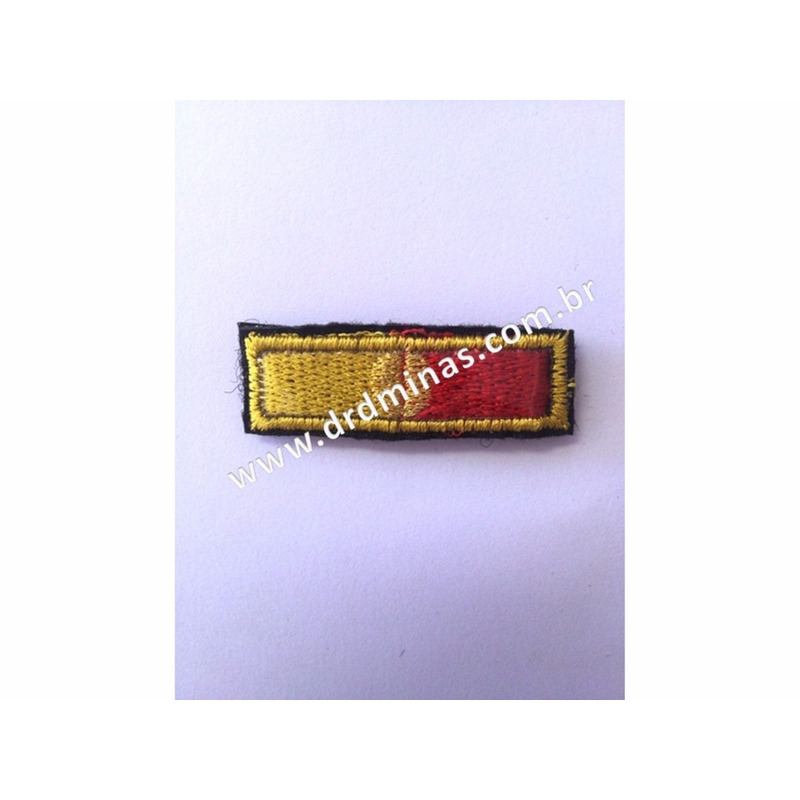 Medalha Bordada DOM PEDRO II - CBMMG