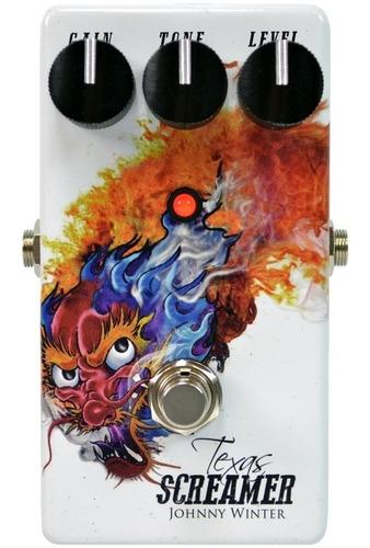 Ts808 Johnny Winter Texas Screamer Overdrive Original