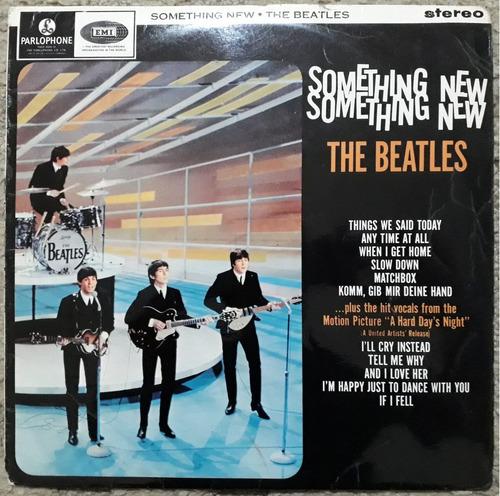 Lp The Beatles Something New Stereo 1965 Inglês Uk Export Original