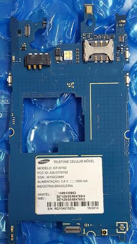 Placa Mãe De Celular Samsung Galaxy S4 Mini Gt I19192 Defeit Original