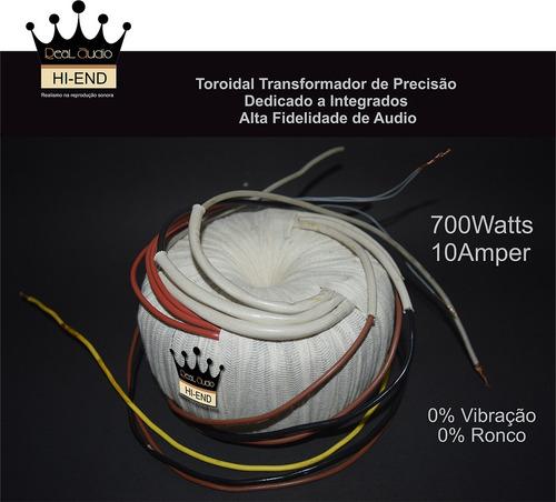 Transformador Toroidal De Alta Fidelidade Para Amplificador Original
