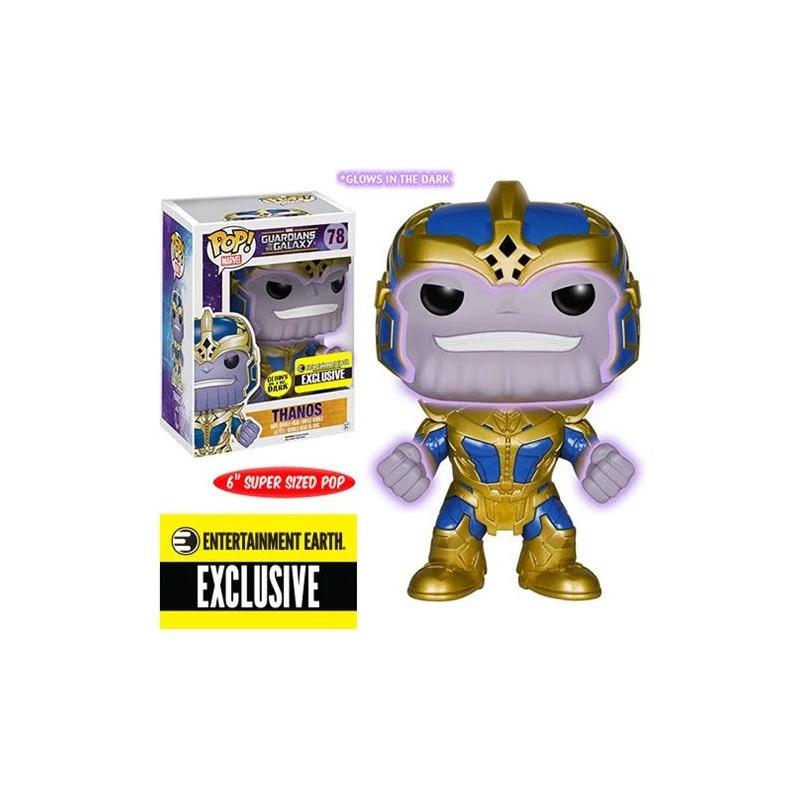Thanos Exclusive Entertainment Earth Pop Funko #78 - Guardiões da Galáxia - Marvel