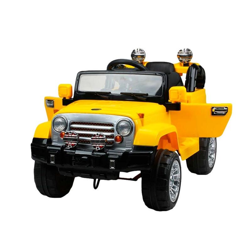 Jipe Trilha com Controle Remoto - Amarelo - 927600 - Bel Brink + Furadeira/Parafusadeira Recarregável 12V FPC.12 + Connect - Maksiwa