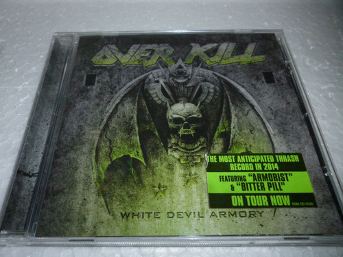 Cd Over Kill - White Devil Armory Usa 2014 Original