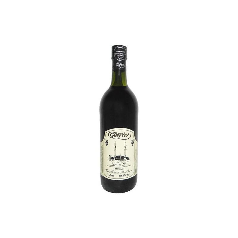 Vinho Tinto Suave Izabel/Bordô 750ml (cxa c/ 12 uni) - Guéfen