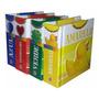Kit 4 Mini Livros Infantis Primeiras Cores Brinde