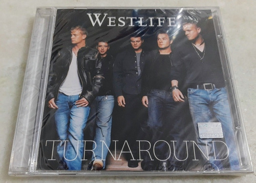 Cd Westlife Turnaround ( Lacrado Raro) Original