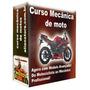 Curso Mecânica De Motos 20 Dvds A89