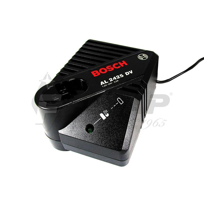 Carregador de Bateria Bosch 220V 1hora 7,2 - 24 V