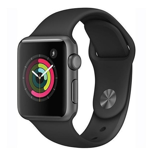 Apple Watch Series 3 38mm Gps Prova D´água, Cores E Nike Original