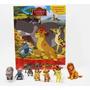 Livro A Guarda Do Leão Amigos Da Selva 12 Miniaturas Disney