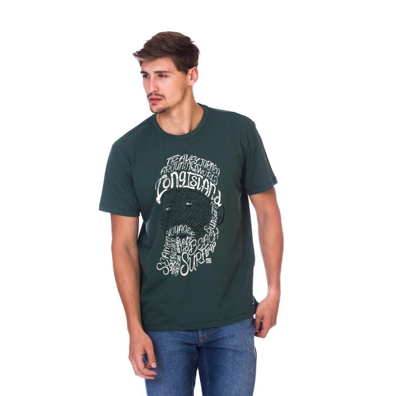 Camiseta Long Island Seaman Verde