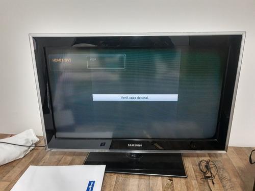 Tv 32 Polegadas Samsung Full Hd - Defeito No Display Original