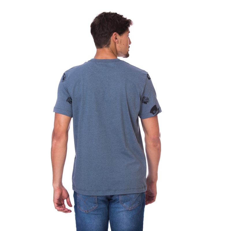 Camiseta Long Island Plus Size Marinho
