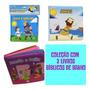 Kit 3 Livros Bíblicos De Banho Impermeáveis: Coisas De Bebe
