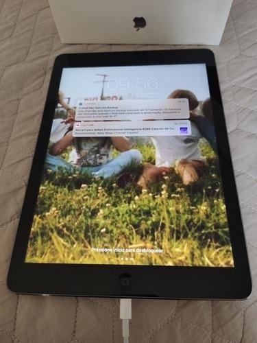 iPad Air 32gb Gray Com Caixa E Case Apple Original