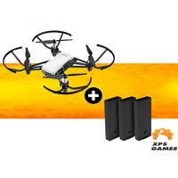 Drone Ryze/Dji Tello + 2 Bateria Extra - Branco