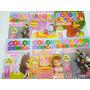200 Livro Revistinha Livrinho Para Colorir Infantil Pintura