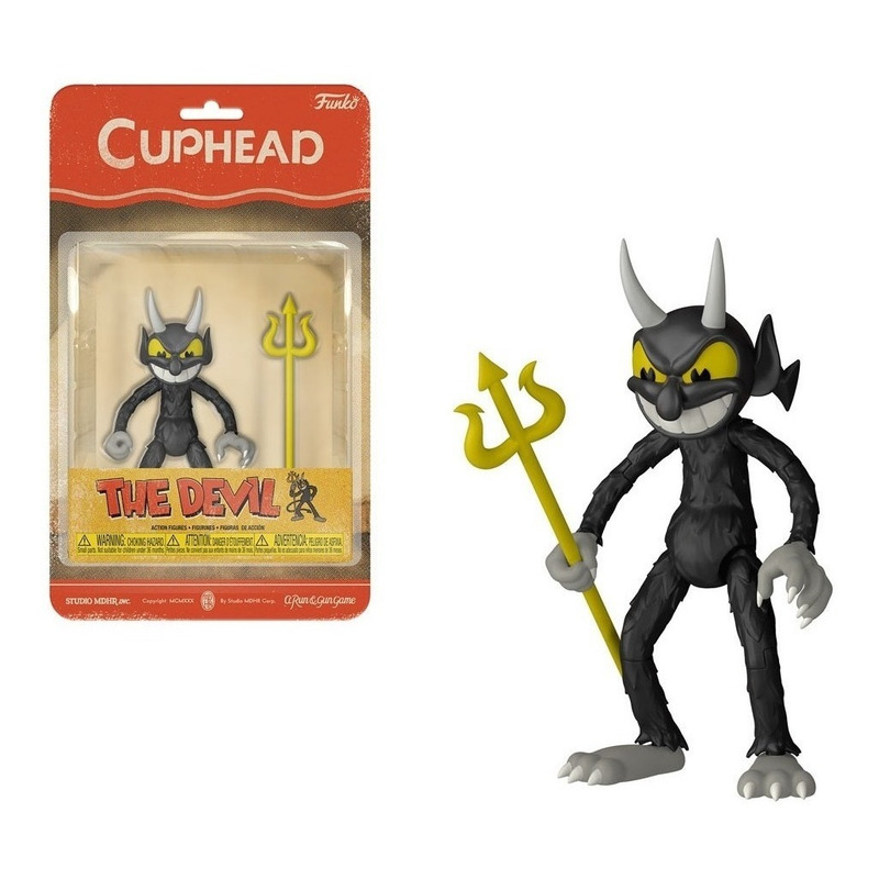 The Devil Funko Action Figure - Cuphead - Games