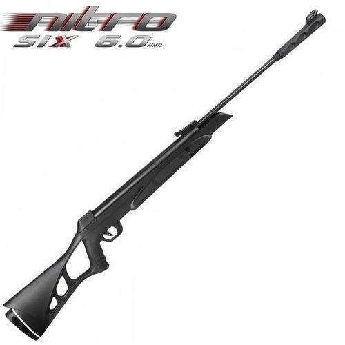 Carabina Pressão Chumbinho Cbc Nitro Six Gas Ram 6,0mm