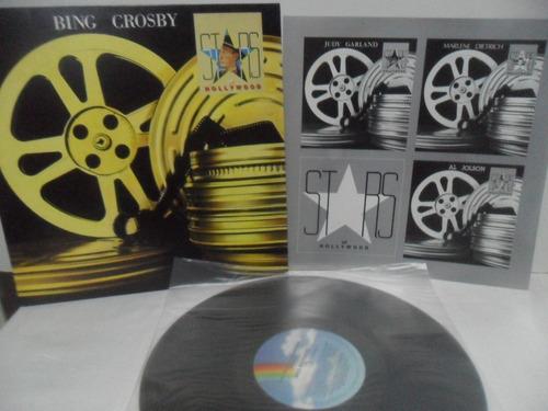 Lp Disco Vinil - Bing Crosby Stars On Hollywood (novinho) Original