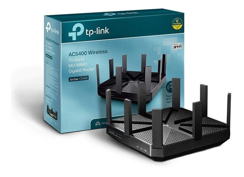 Rot S/fio Ac5400 8 Ant Archer C5400 Mimo Tri Band Tp-link Original