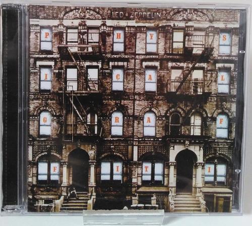 Cd Duplo Led Zeppelin Physical Graffiti  E Lacrado! Original