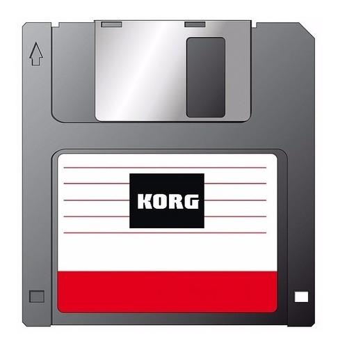 Diskete Preload Timbres Teclado Korg X 3  E  X 2   Aproveite Original