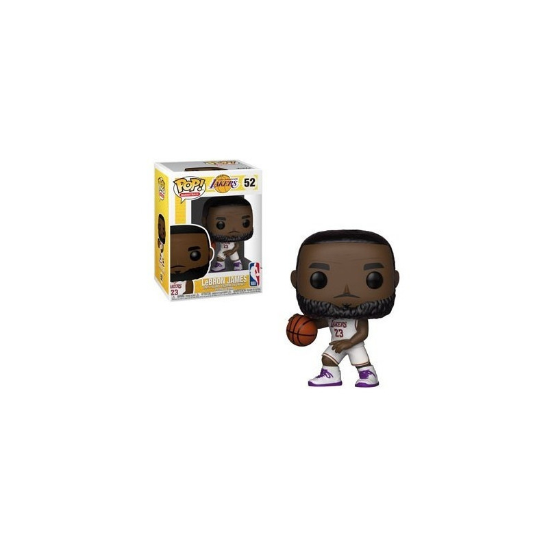 Lebron James Pop Funko #52 - Los Angeles Lakers - NBA
