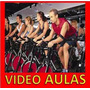 Dvd Aula De Spinning Bike, 2 Dvds Emagreça Queimador Sc