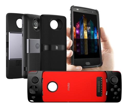 Moto Snap Projetor+ Tvdigital+ Gamepad+jbl + Bumper Z2 Original