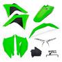 Kit Plástico Crf 230 Amx Premium 2008 2019 Verde