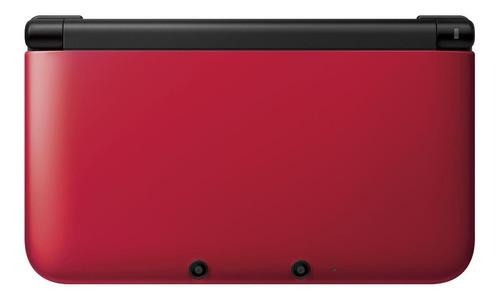 Nintendo 3ds Xl Standard Vermelho E Preto Original