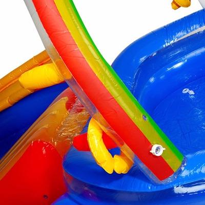 Piscina parquinho infantil intex r 439 99 em mercado livre for Piscina inflavel arco iris intex playground com escorregador