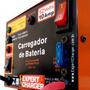 Carregador Baterias 12v 10ah Até 200 Amp Portátil Brinde